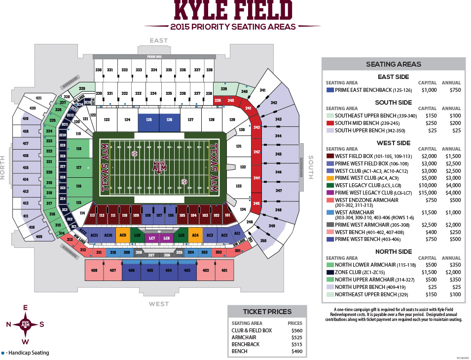 2015 Kyle Field Seating and Pricing Chart | TexAgs Kyle Field Map on lp field map, kyle zoning map, coca-cola field map, cashman field map, sports authority field at mile high map, tropicana field map, progressive field map, ford center map, target field map, hometown kyle map, parkview field map, victory field map, lincoln financial field map, fedex field map, u.s. cellular field map, durham bulls athletic park map, centurylink field map, faurot field map, soldier field map,